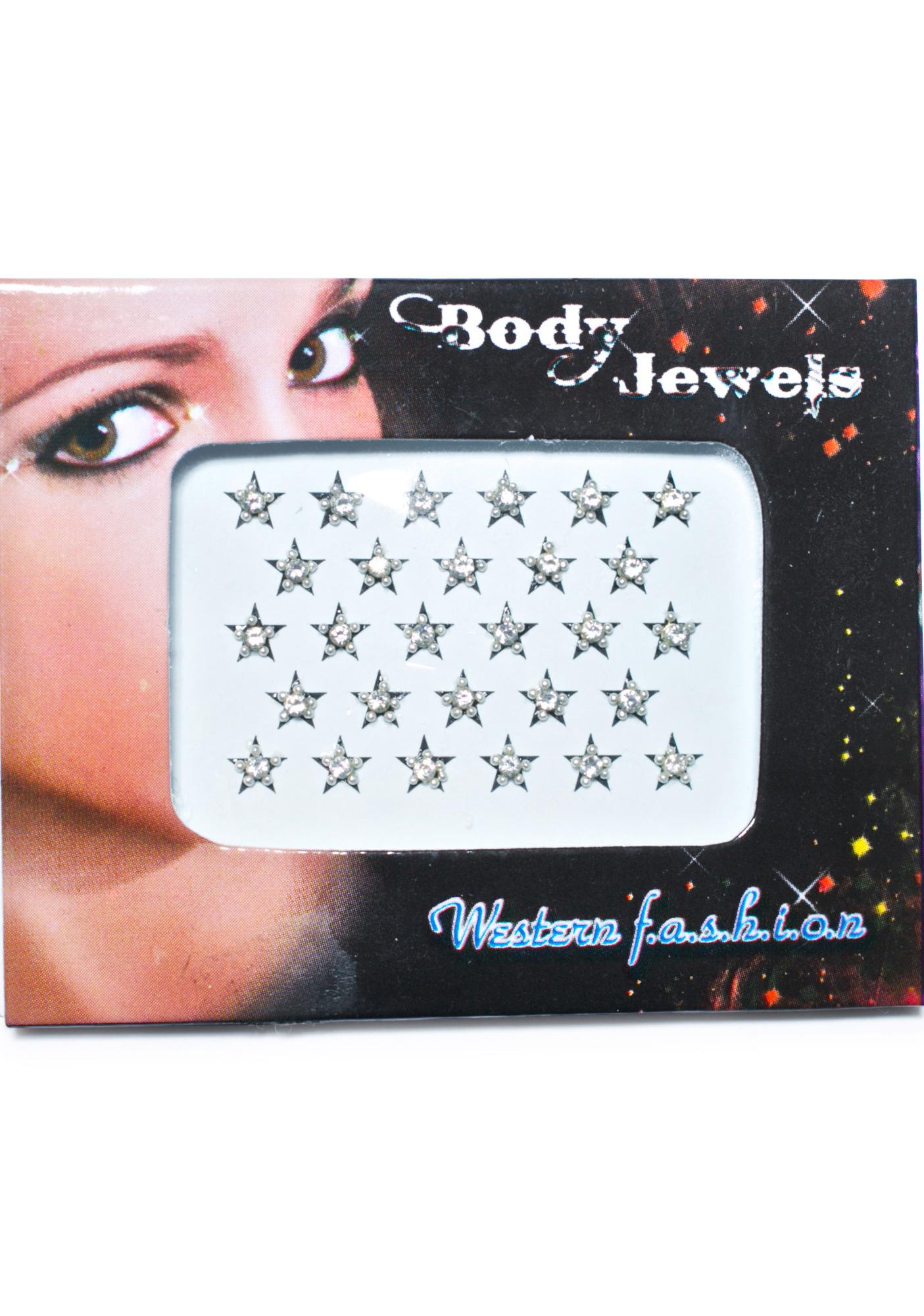 Stars In Your Eyes Body Jewels