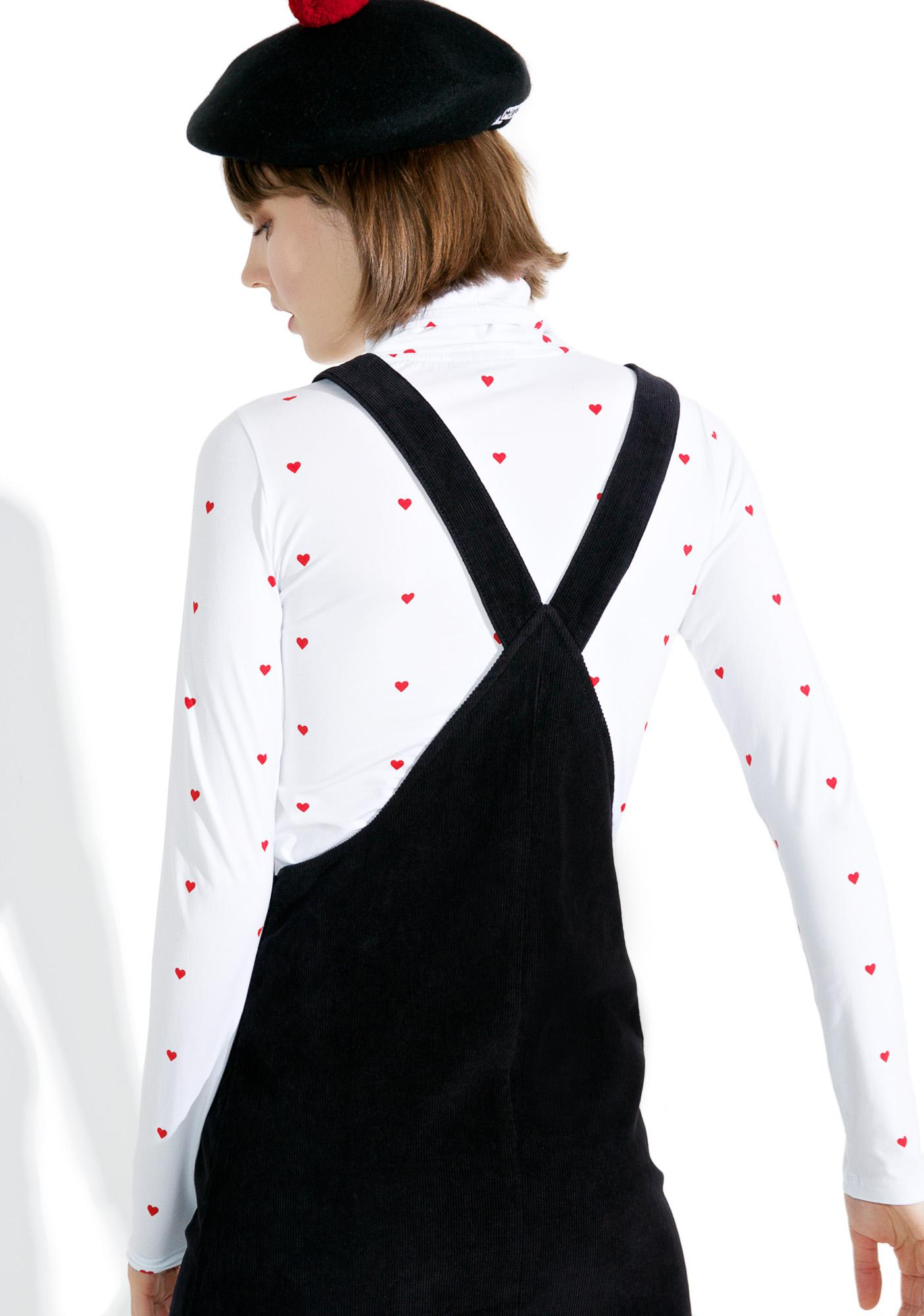 Lazy Oaf Bow Tie Eyeball Pinafore