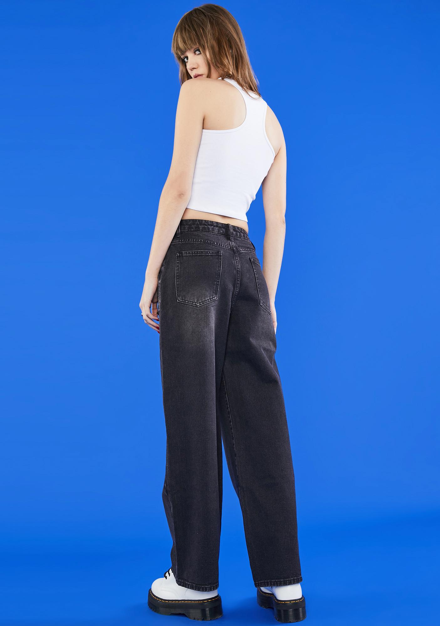 dELiA*s by Dolls Kill Chasing Waterfalls Wide Leg Jeans