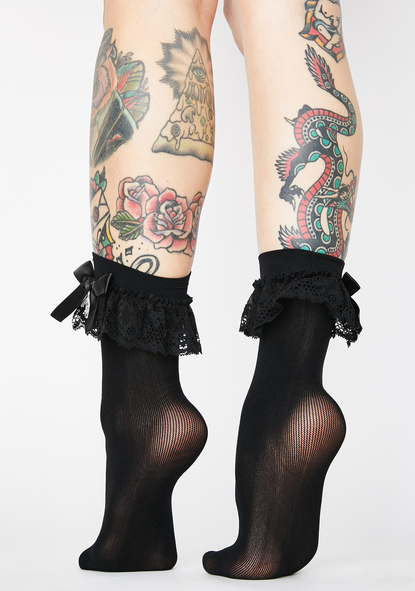 Killstar Hextra Lace Socks