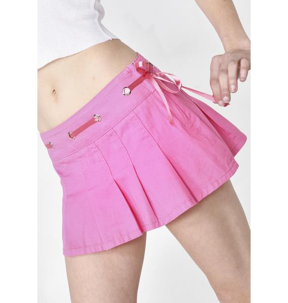 Sugar Thrillz Rich N' Famous Mini Skirt