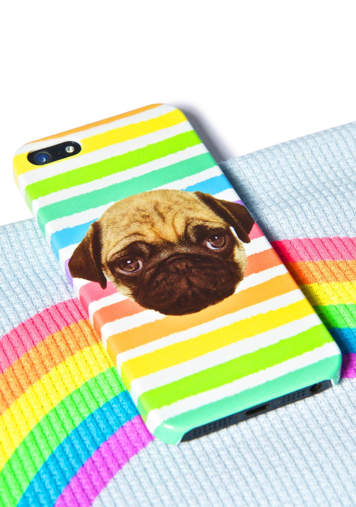 Local Heroes Rainbow Pug iPhone 5 Case
