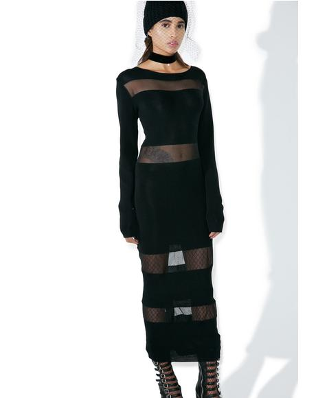 Afterlife Cut-Out Maxi