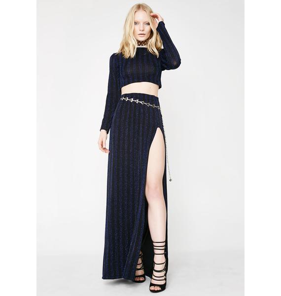 The Madonna Label Black 2 Piece Dress