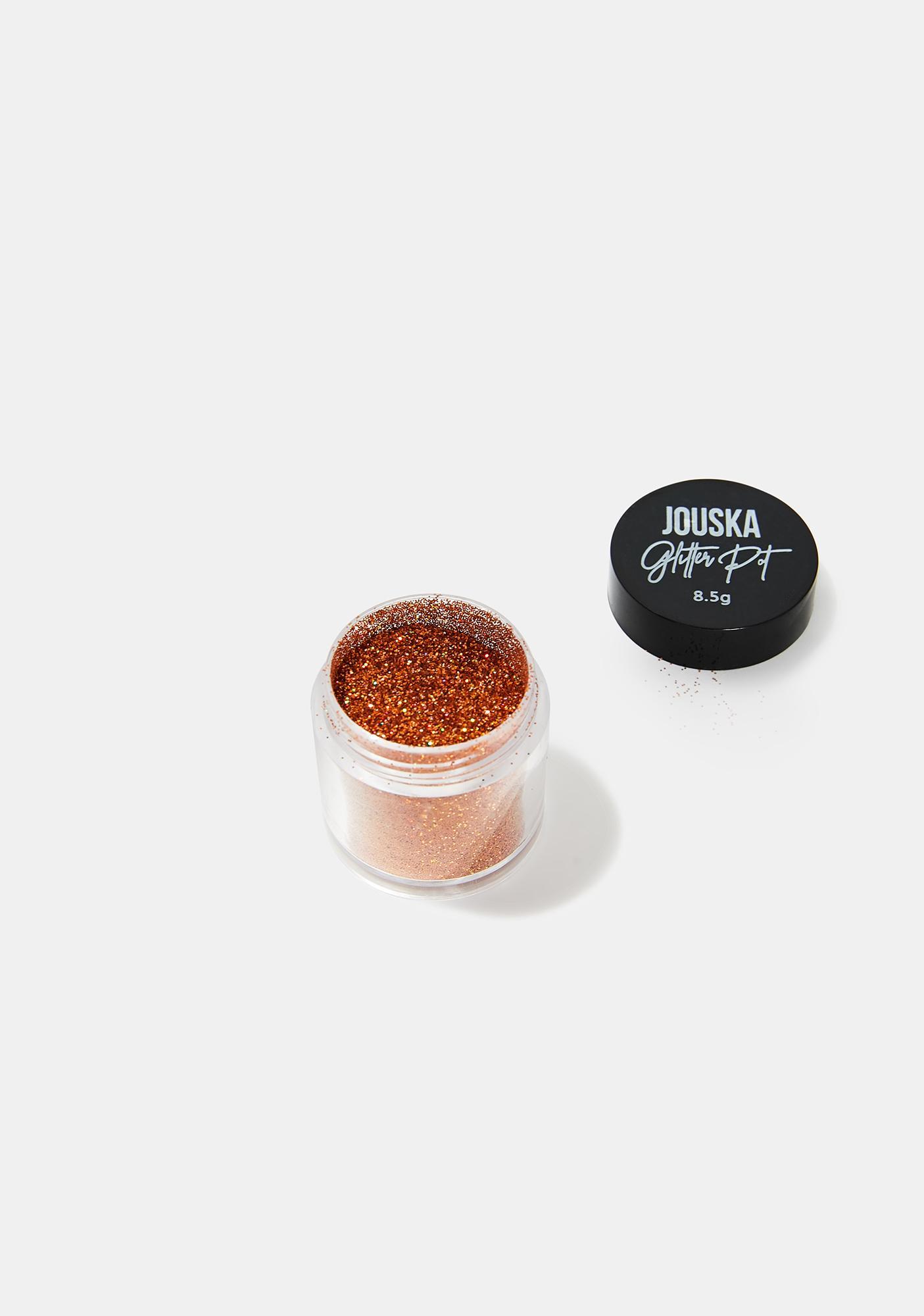 Jouska Cosmetics Naranja Glitter Pot