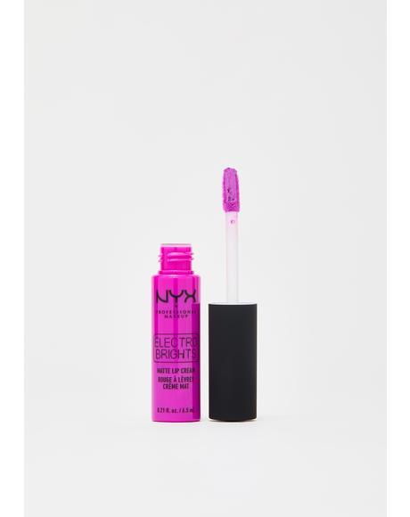 Rio De Janeiro Electro Brights Matte Lip Cream