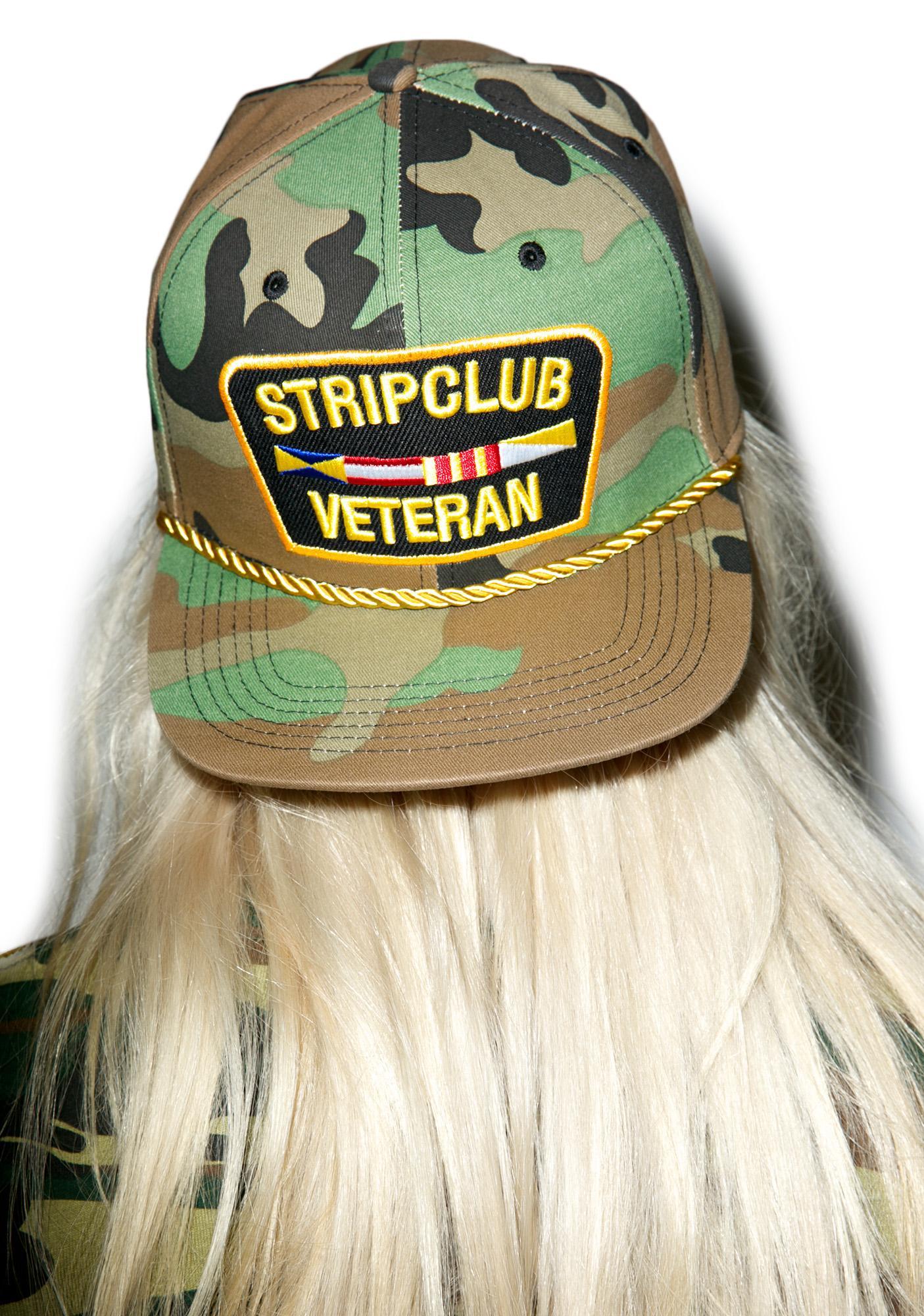 Reason Camo Strip Club Veteran Snapback