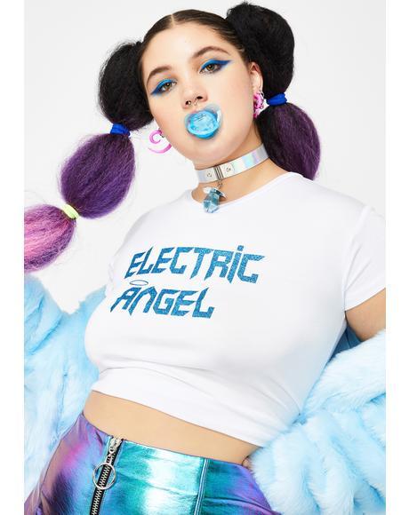 Divine Dancefloor Angel Baby Tee