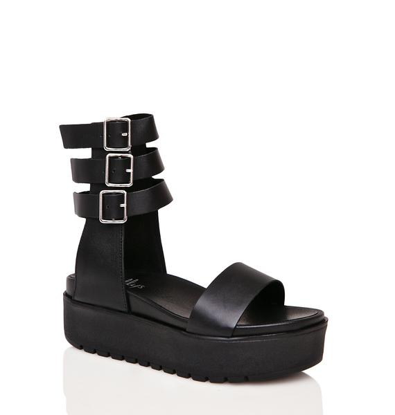 Shellys London Kegan Platform Sandals