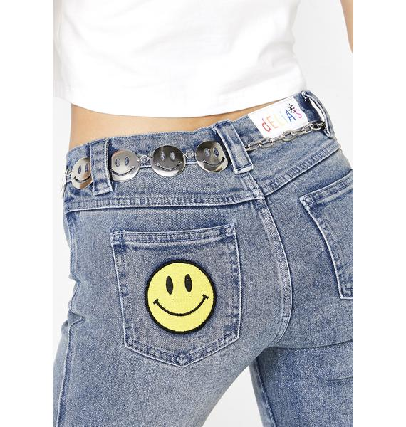 Clowin' Around Smiley Belt