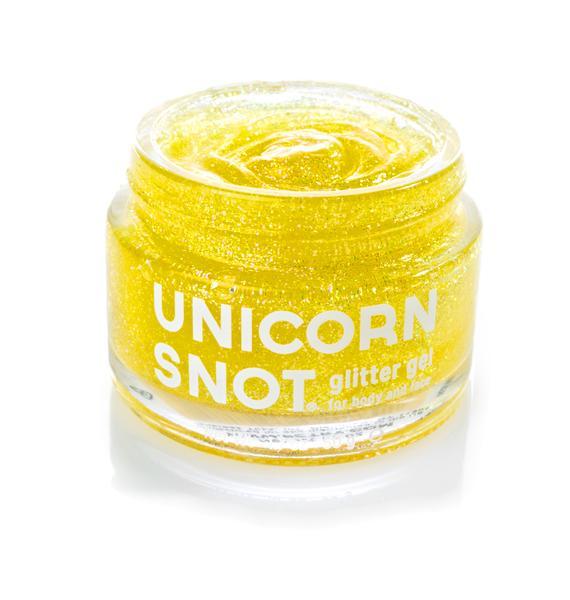 Unicorn Snot Goldie Glitter Gel