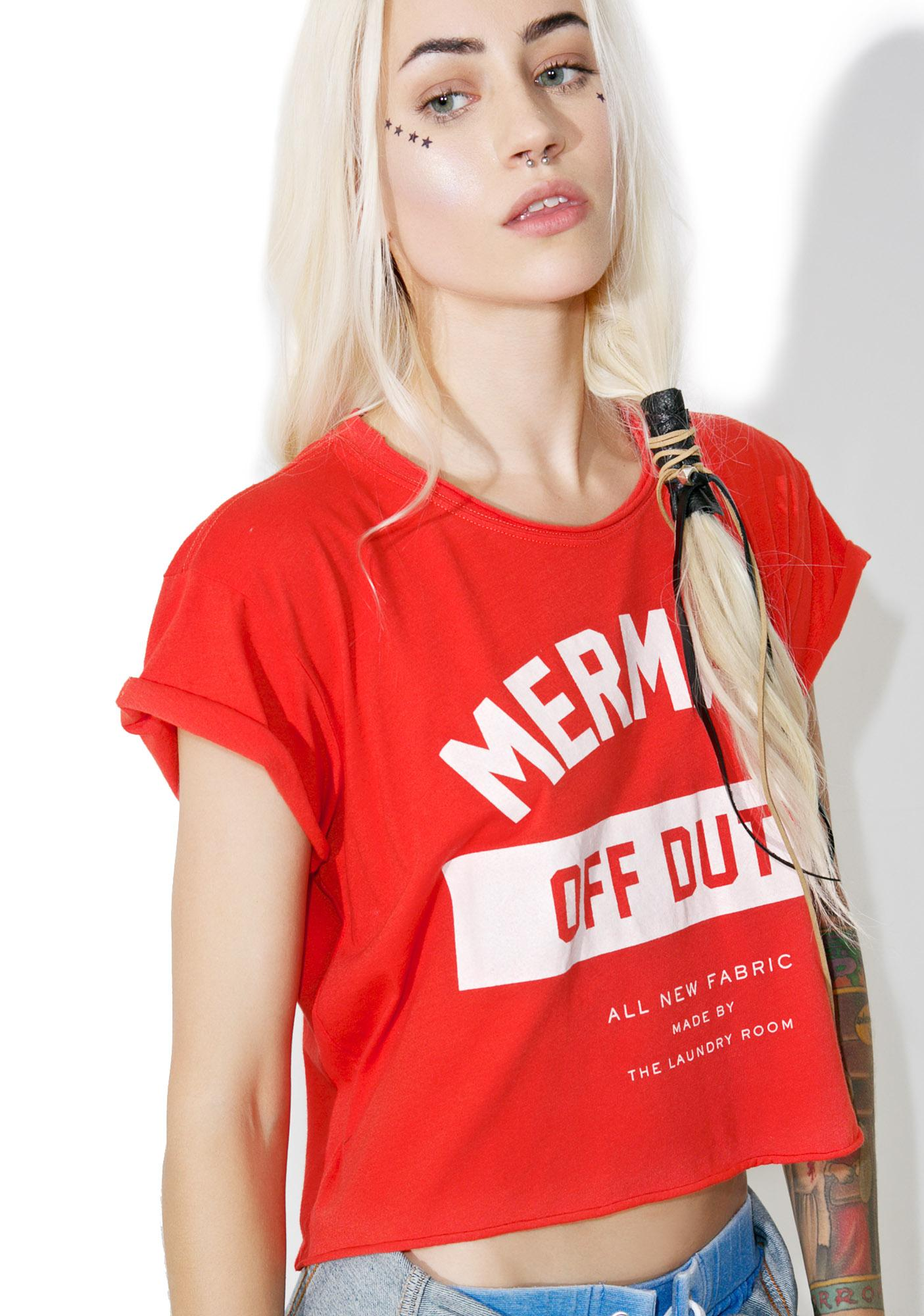 The Laundry Room Mermaid Off Duty Uniform Tee