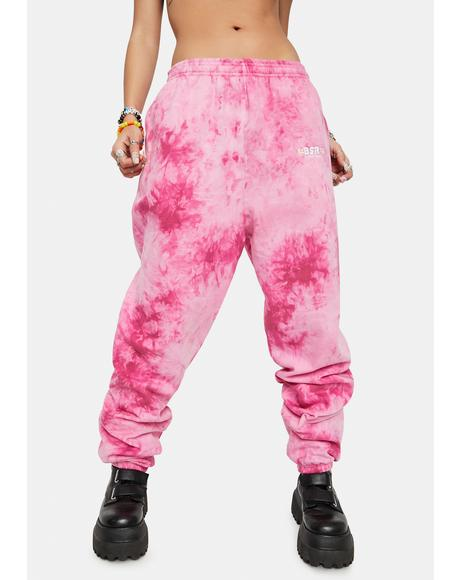 Rose Blend Everyday Tie Dye Sweatpants