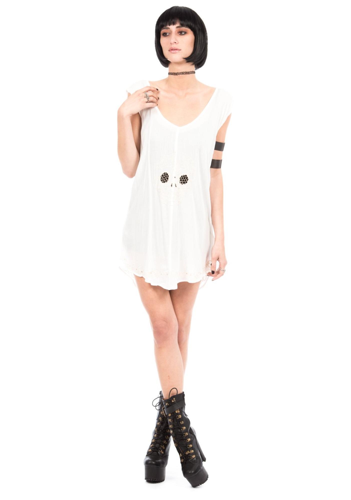 One Teaspoon Bone Yard Lace Dress
