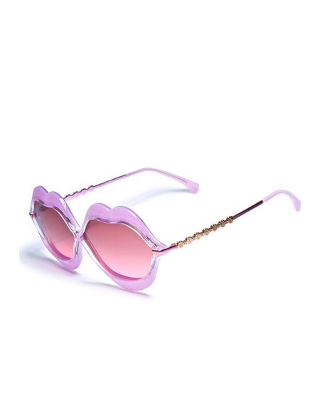Glitter Lip Service Sunglasses