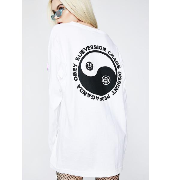 Obey Subversion Long Sleeve Tee