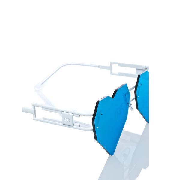 ESQAPE Heart Speqz Sunglasses