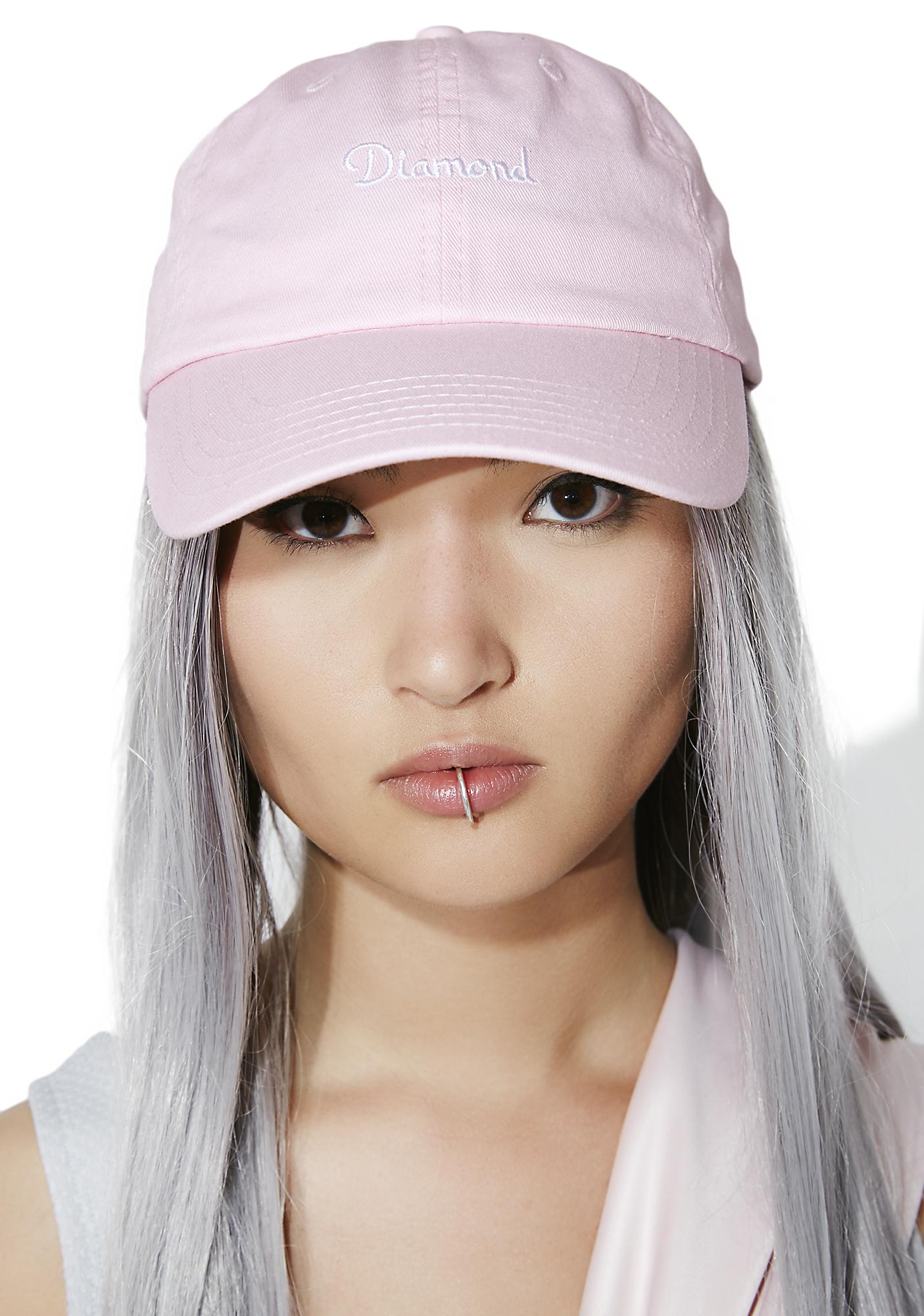 Diamond Supply Champagne Sports Hat