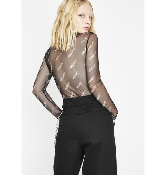 High Value Mesh Bodysuit