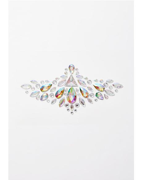 Diamond Dust Cosmic Body Crystals
