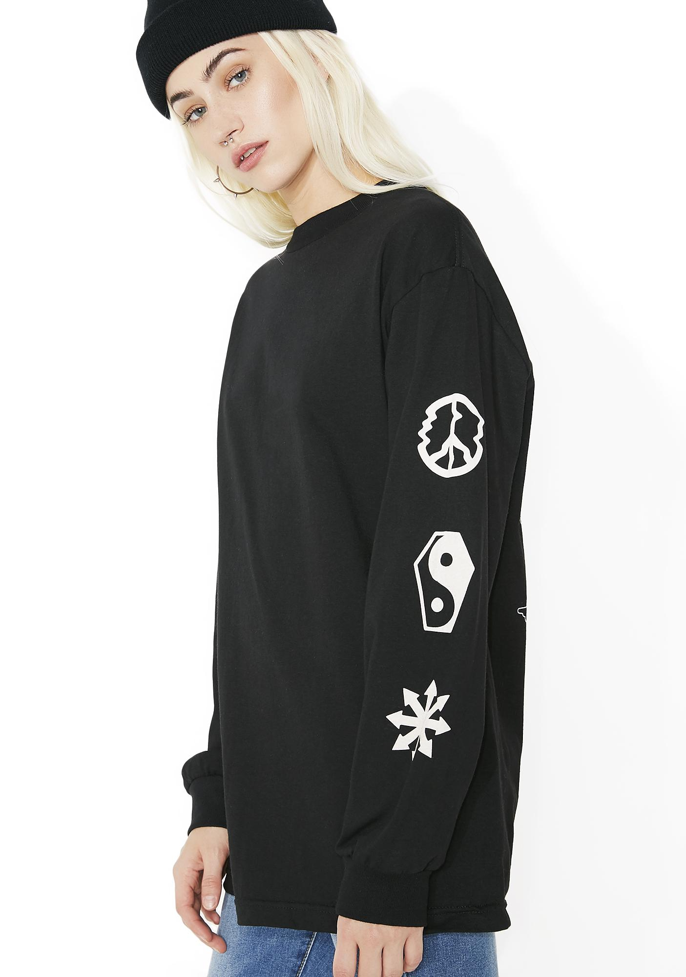 Sketchy Tank Gone Hesh Long Sleeve Tee