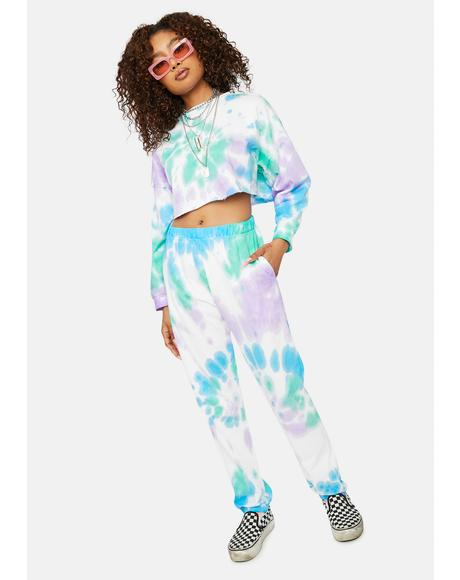 Envy Speak No Evil Tie Dye Lounge Set