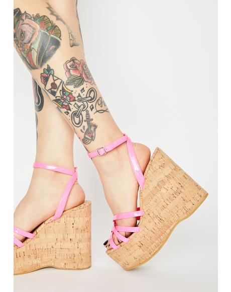 Barbie Cupid Wedge Heels