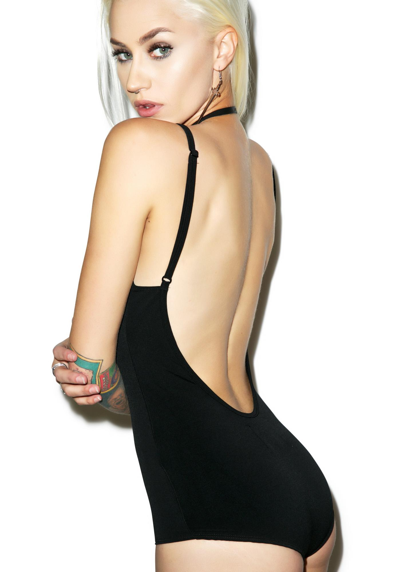 Black Wednesday Demoiselle Bodysuit
