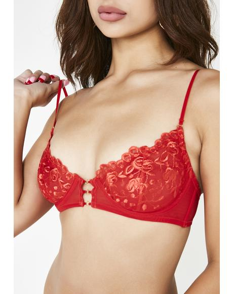 Light My Fire Lace Bra