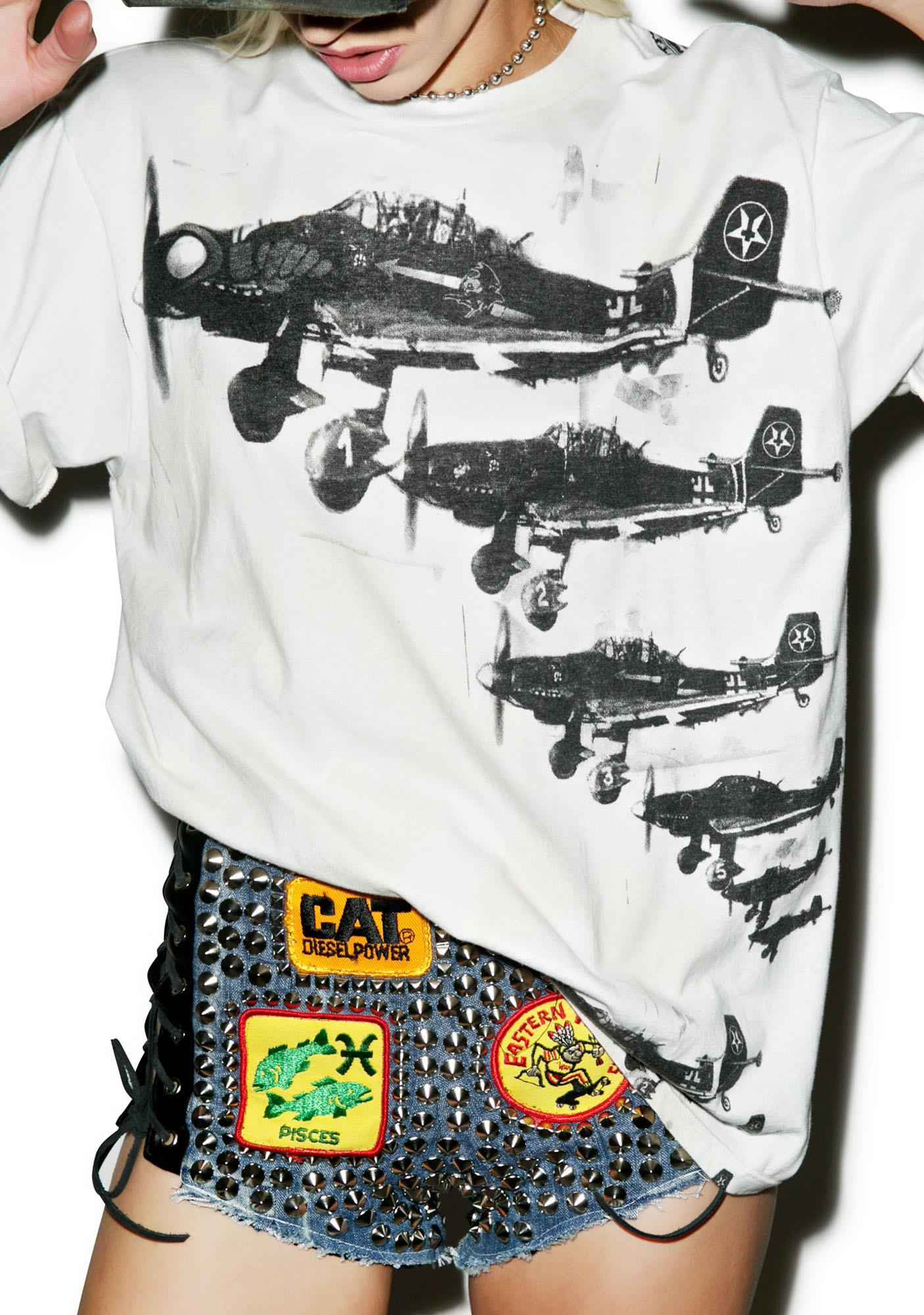 Junker Ace Fighter Pilot Tee