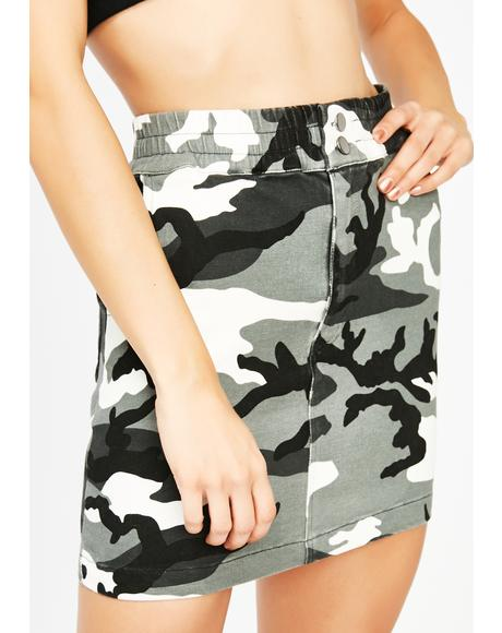 Hide N' Seek Camo Skirt