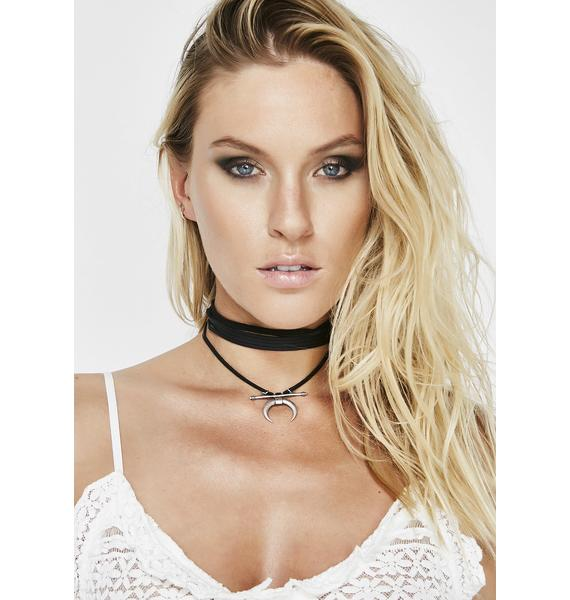 Break Ties Wrap Choker