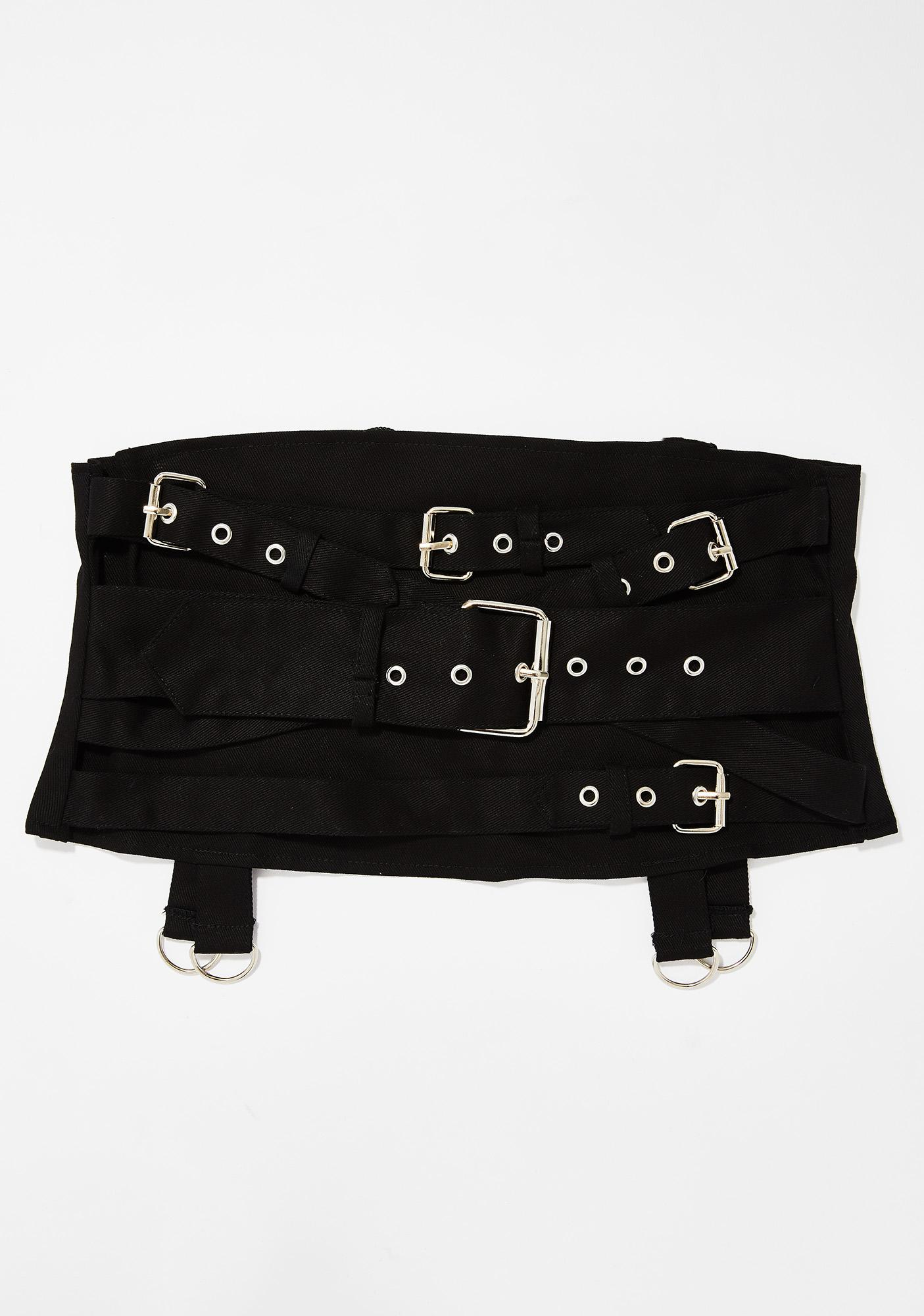 Necessary Evil Gothic Hel Pocket Multi Belt Cincher
