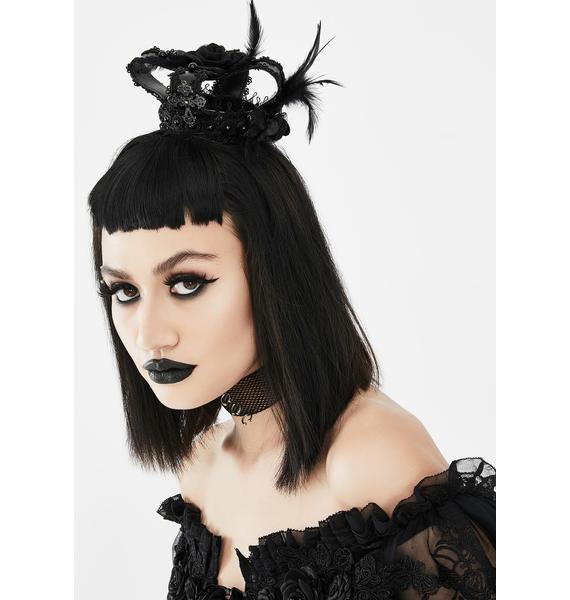 Devil Fashion Feather Crown