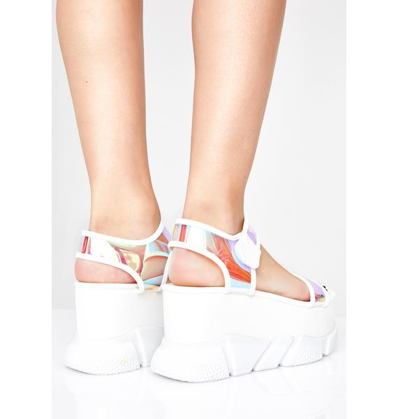 Superfly Sass Platform Sandals