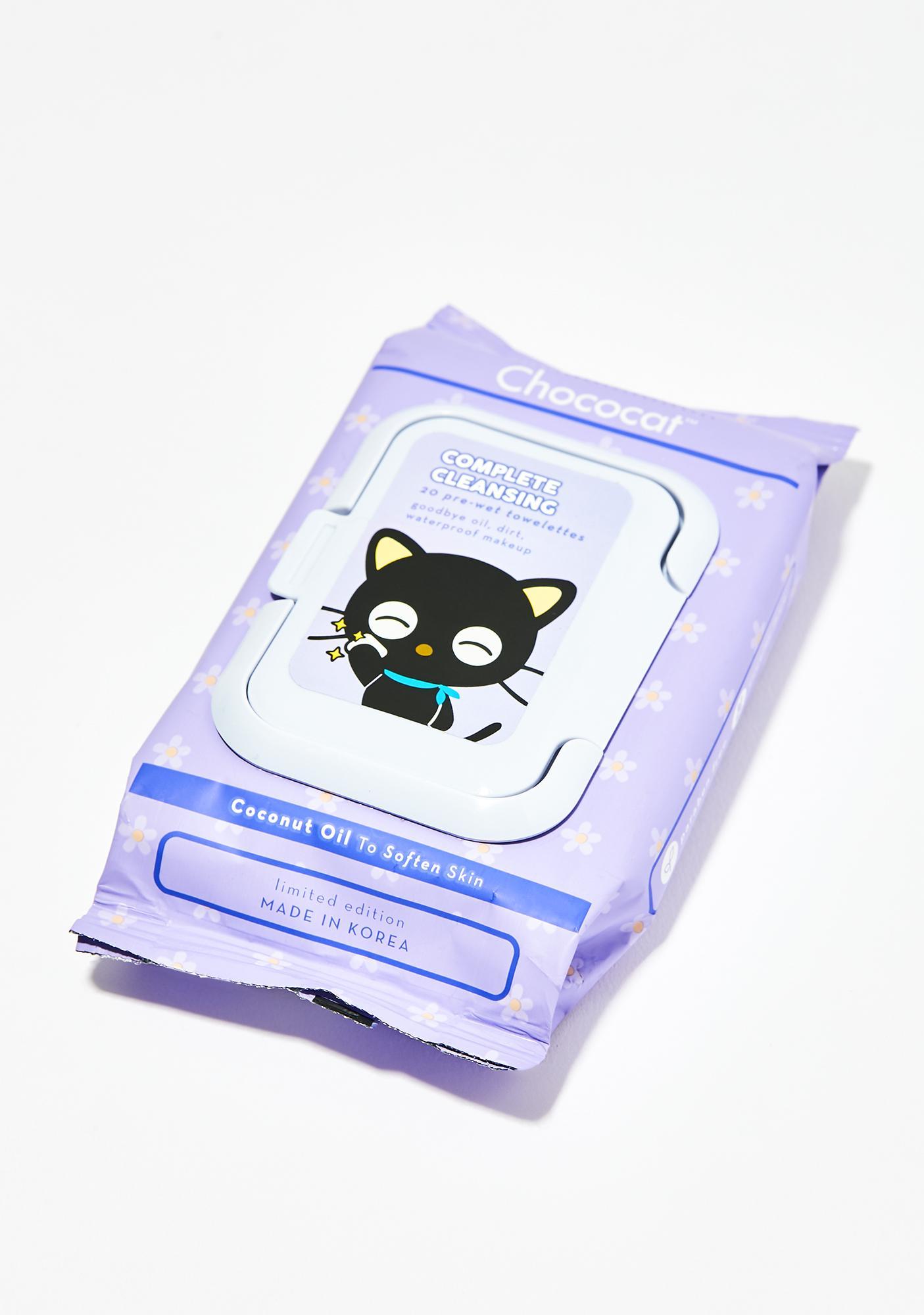 The Crème Shop Chococat Cleansing Towelettes