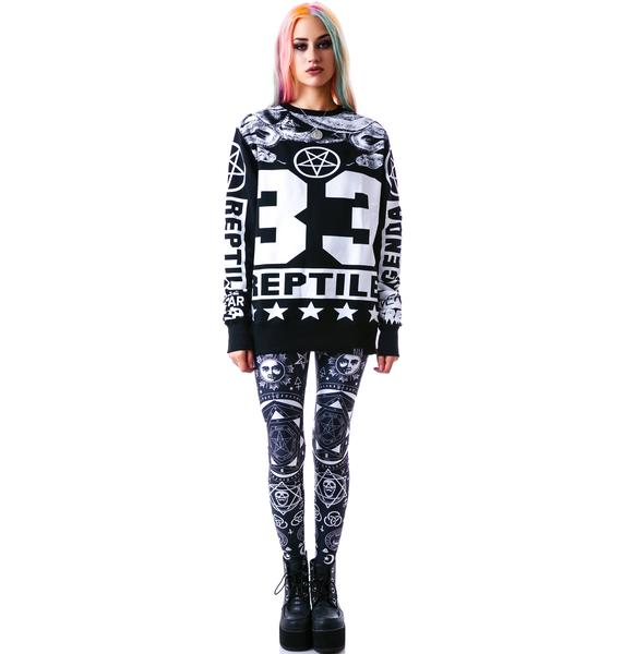 Killstar Reptile Sweatshirt