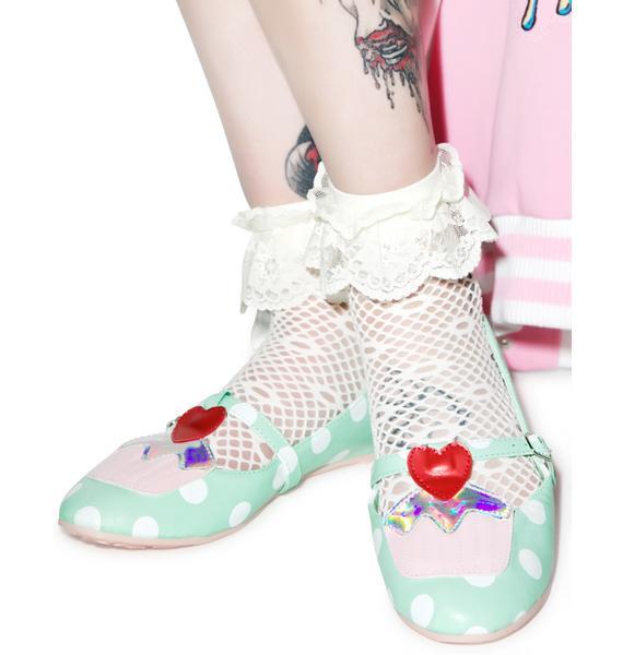Iron Fist Cupcake Princess Flats