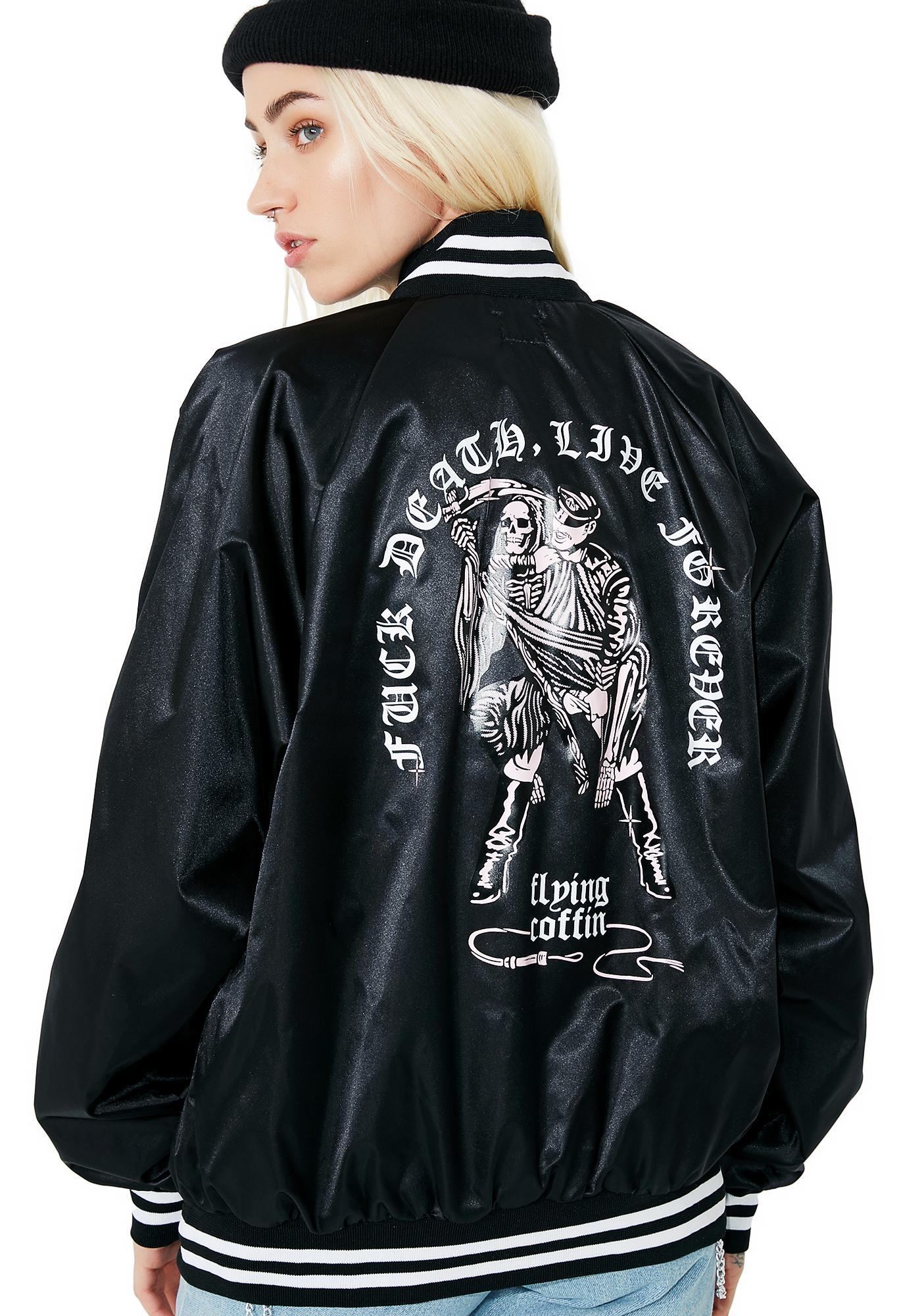 Flying Coffin Fuck Death Jacket
