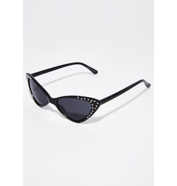IDGAF Cat Eye Sunglasses
