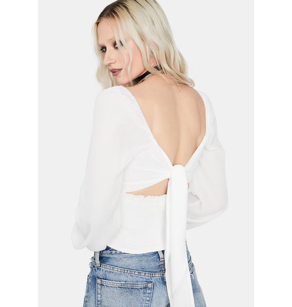 Position Switcher Crop Top