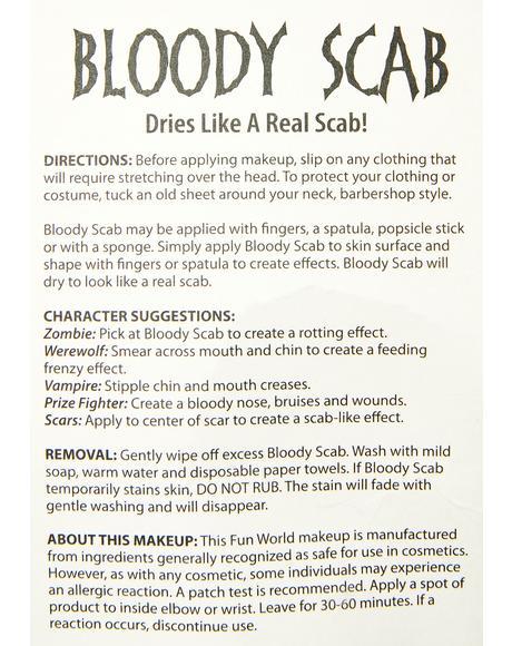 Bloody Scab Makeup Kit