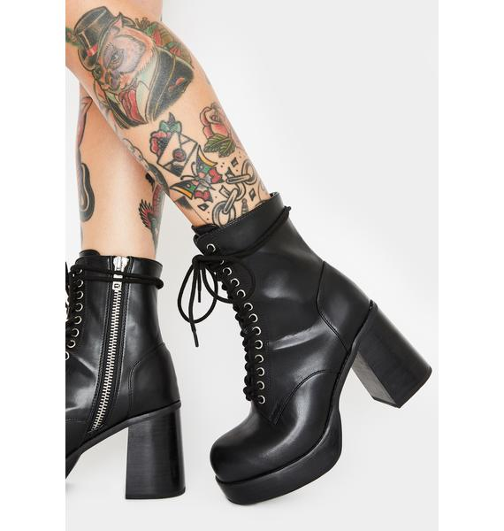 Dolls Kill x The Craft Power Of Three Ankle Boots