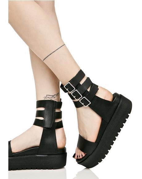 Kegan Platform Sandals