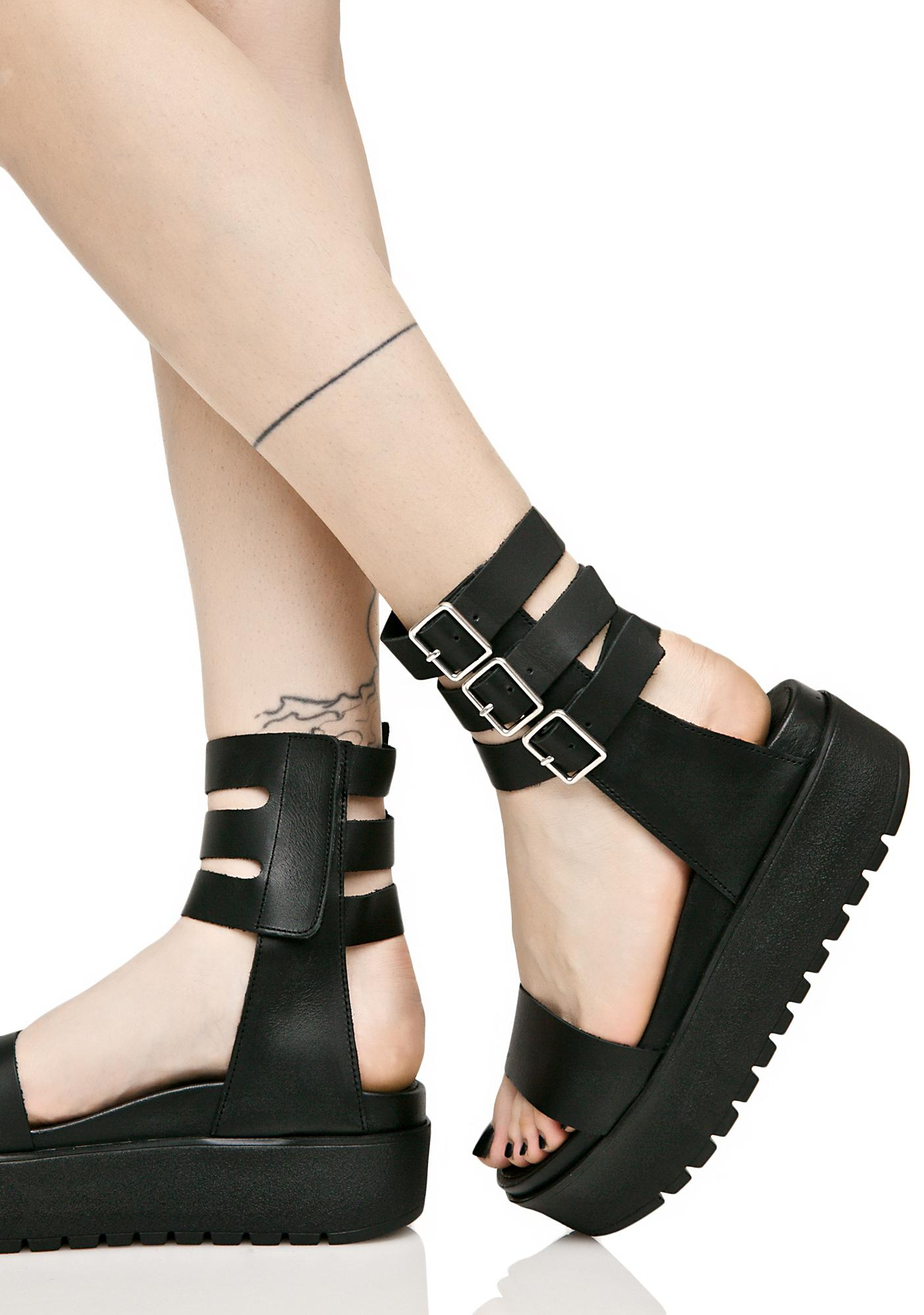 Shellys London Kegan Platform Sandals