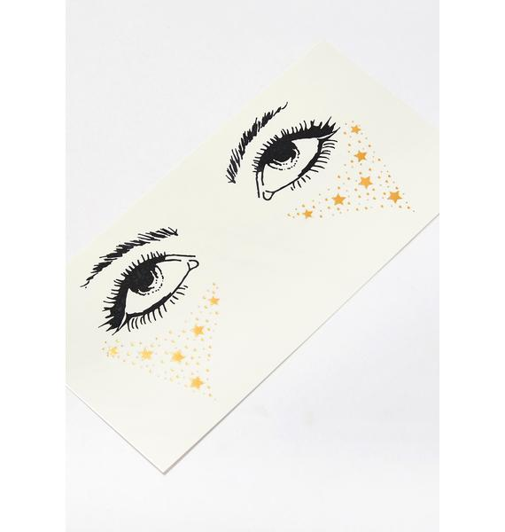 Celestial Visions Face Stickers