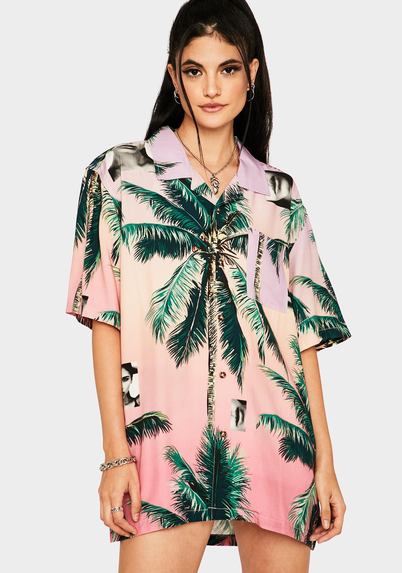 HUF Molly Resort Button Up Shirt