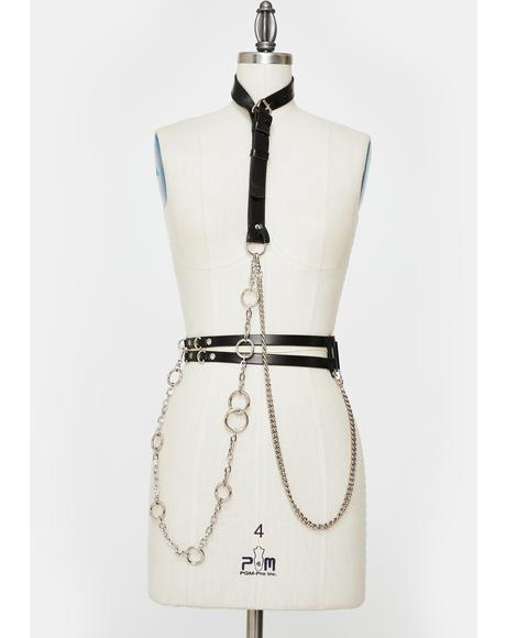 Punish For Praise Harness Belt