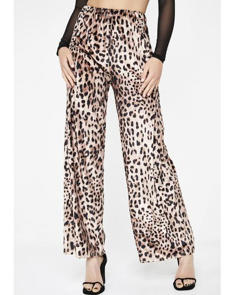 Lavish Lifestyle Leopard Pants