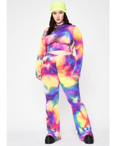 Atomic Glitter Explosion Tie Dye Set